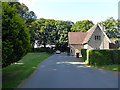 ST5072 : House at Main Entrance to Tyntesfield by PAUL FARMER
