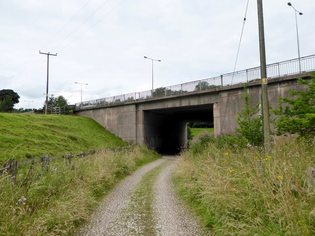 M6 bridge over Lymes Road
