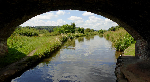 Trent and Mersey Canal near Colwich, Staffordshire