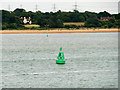 SU4704 : Fawley Deep Shipping Channel Marker by David Dixon