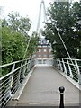 NZ2742 : Bridge over the river by Michael Dibb