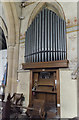 SK8333 : Organ, St James's church, Woolsthorpe by Belvoir by Julian P Guffogg