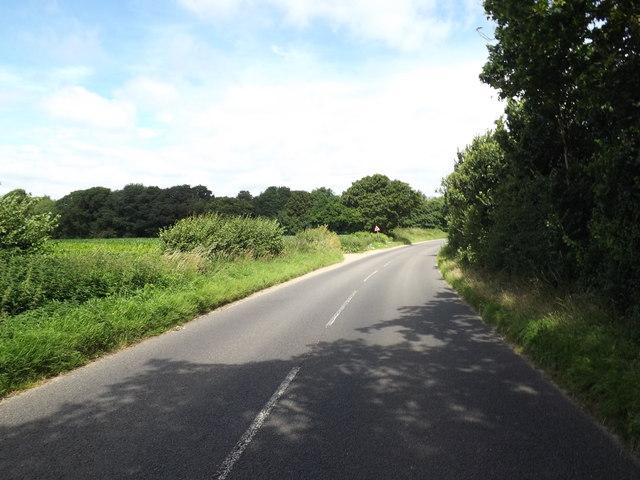 B1113 Redgrave Road, Redgrave
