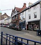 SO2914 : Fiore, Cross Street, Abergavenny by Jaggery