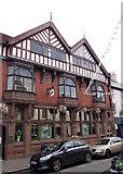 SO2914 : Late Victorian Lloyds Bank, Cross Street, Abergavenny by Jaggery