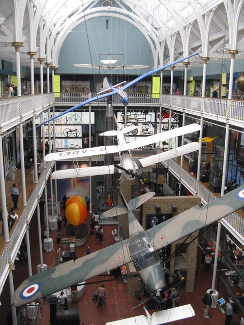 Aircraft at the National Museum of Scotland
