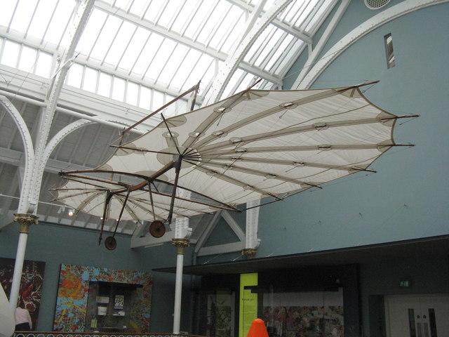 Pilcher's Hawk - a 19thC hang glider