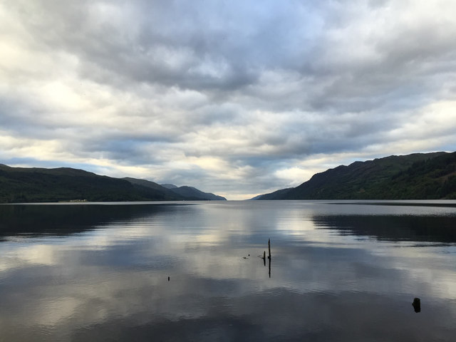 Loch Ness from its southern end