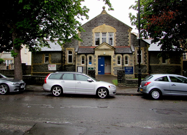 Stanwell Road Baptist Church hall, Penarth