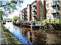 SJ9398 : Canalside reflections by Gerald England
