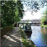 SJ9398 : Amie-Lou on the Ashton Canal by Gerald England