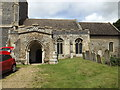 TM0382 : St.Nicholas's Church, North Lopham by Adrian Cable