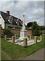 TM0382 : North Lopham War Memorial by Adrian Cable