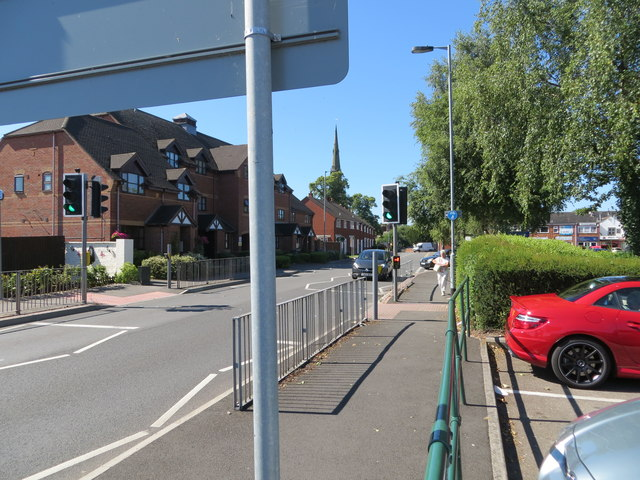 Forge Road in Rugeley
