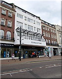 SZ0891 : Slug & Lettuce above Tesco Metro, Bournemouth by Jaggery