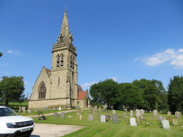 The Church of St Mary at Dunstall