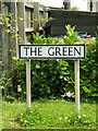 TM0383 : The Green sign by Adrian Cable