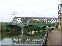 TL1998 : Peterborough's bridges [3] by Michael Dibb