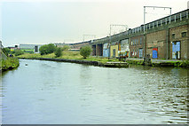 SJ8297 : Hulme Locks, 1990 by Robin Webster