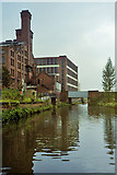 SJ8297 : Bridgewater Canal and former Canal Flour Mills by Robin Webster