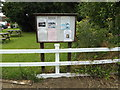 TM0383 : North Lopham Village Notice Board by Adrian Cable