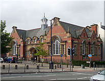 SJ3589 : Toxteth Library, Windsor Street, Liverpool by Stephen Richards