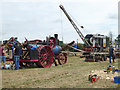 SO8040 : Welland Steam Rally - sawing and steam crane display by Chris Allen