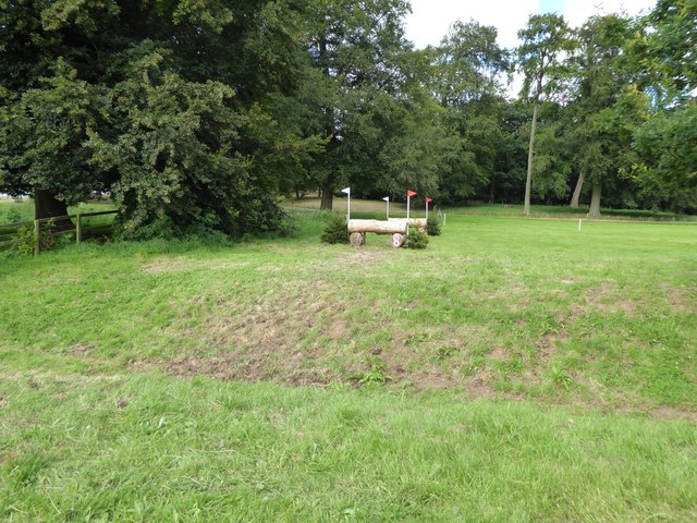 Cholmondeley Castle Horse Trials: cross-country obstacles