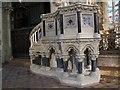 SE0926 : All Souls, Haley Hill, Halifax: pulpit by Stephen Craven