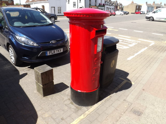 Crowland Post Office Postbox