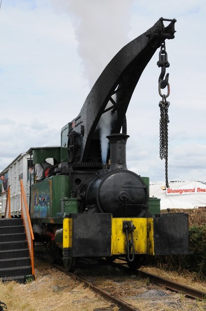 Steam Locomotive Crane
