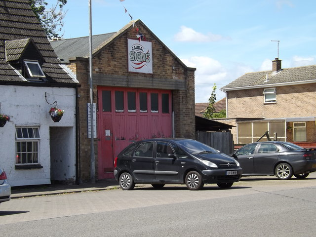 Crowland former Fire Station