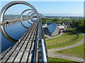 NS8580 : The Falkirk Wheel and Union Canal by Mat Fascione