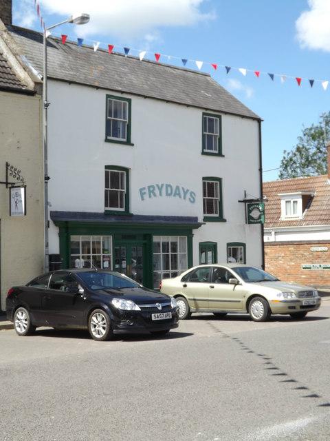 Frydays Fish & Chips shop, Crowland