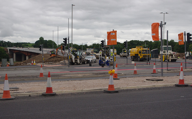 Junction of Caton Road and Heysham Link Road