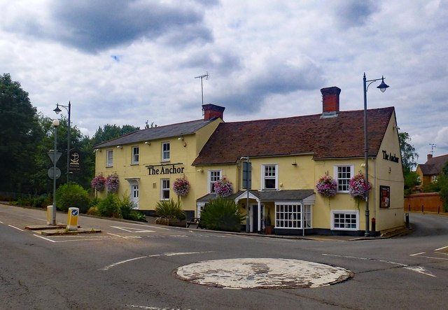 """The Anchor"" public house, Wadesmill"