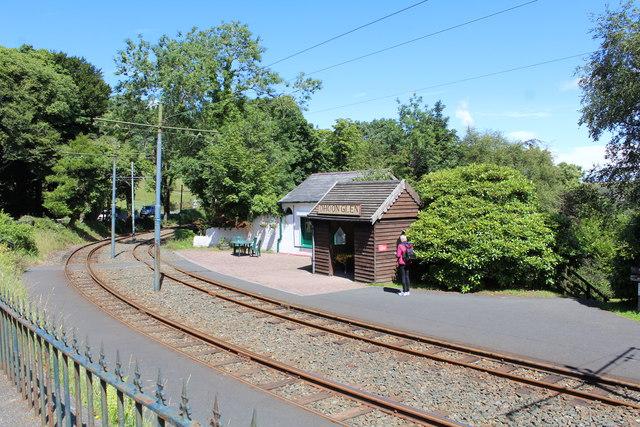 Dhoon Glen station