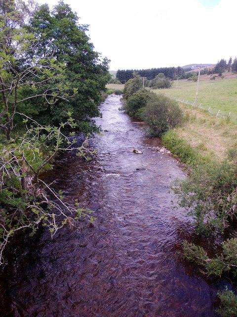 Upstream River Isla
