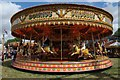 SO8040 : Fairground carousel by Philip Halling