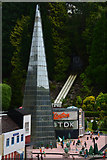 SX9265 : Torquay : Babbacombe Model Village - The Shard by Lewis Clarke
