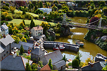 SX9265 : Torquay : Babbacombe Model Village - Fishing Village by Lewis Clarke