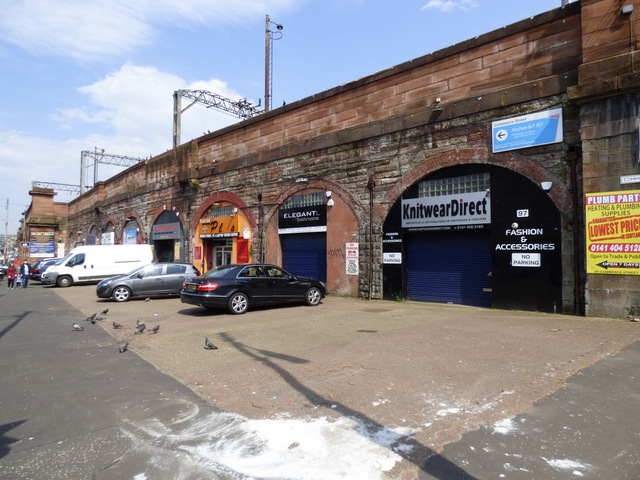 Commerce Street railway arches