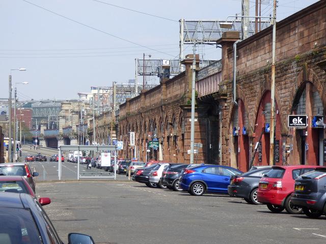 Commerce Street railway arches