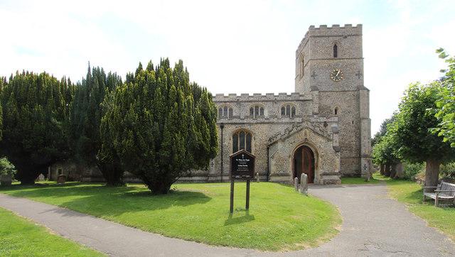 St Mary, Linton