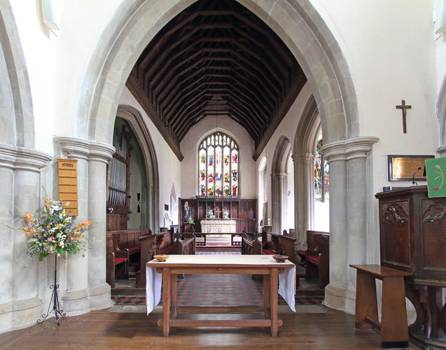 St Mary, Linton - East end