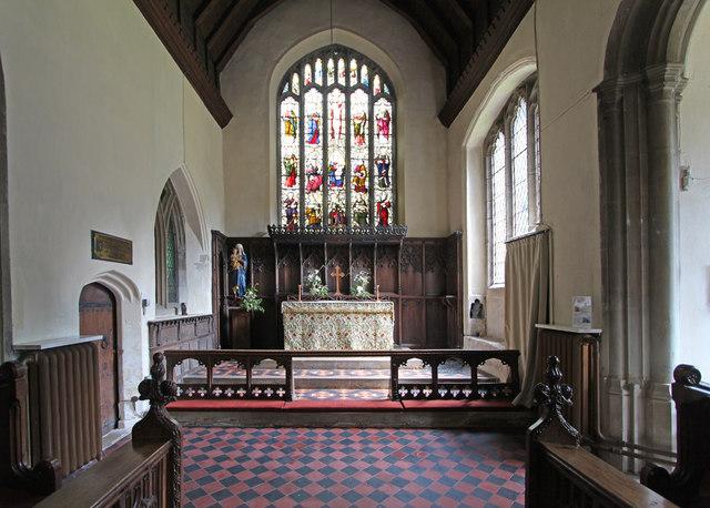 St Mary, Linton - Chancel