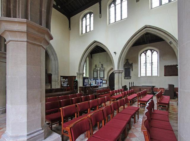 St Mary, Linton - Interior