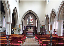 TL5646 : St Mary, Linton - East end by John Salmon