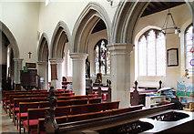 TL5646 : St Mary, Linton - South arcade by John Salmon