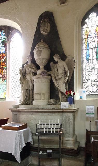 St Mary, Linton - Monument